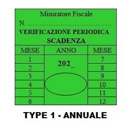 TYPE 1 - Verificazione...