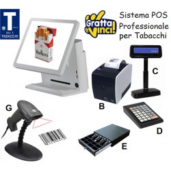 Sistema POS per Bar Tabacchi & Gratta e Vinci Professionale
