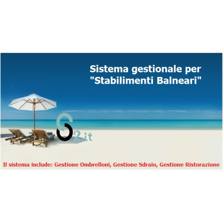 Sistema POS per Stabilimenti Balneari - Spiagge