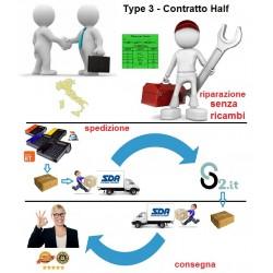 Type 3 - Bollino Verde + Contratto di assistenza Half