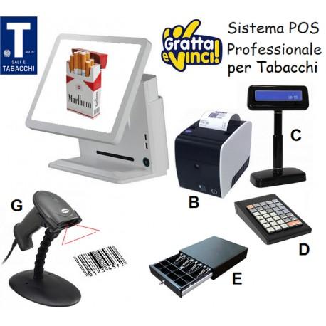 Sistema Gestionale POS per Bar Tabacchi & Gratta e Vinci Professionale