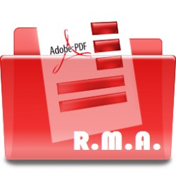 Request form R.M.A.